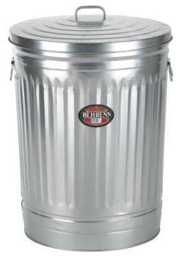 Where to find METAL TIN TRASH CAN in Peoria