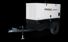 Rental store for TOWABLE GENERATOR,20KW 25KVA 8hr use day in Peoria IL