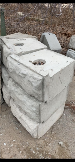 Rental store for CONCRETE BLOCK 2 X2 X1   600LBS in Peoria IL