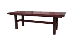 Rental store for MAHOGANY FARM TABLE in Peoria IL