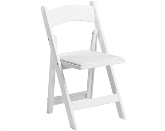 Where to find FOLDING CHAIR, WHITE GARDEN WEDDING in Peoria