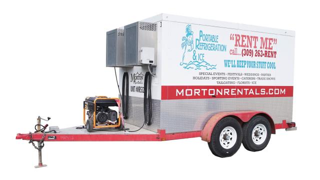 ENCLOSED TRAILER REFRIGERATED Rentals Peoria IL, Where to