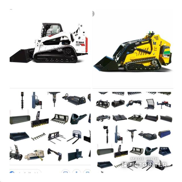 Rent Skid Steers & Attachments