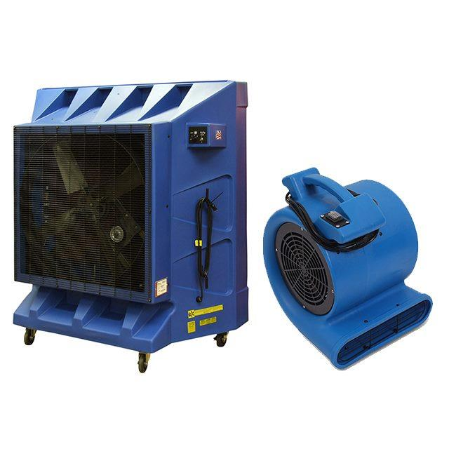 Rent Heaters, Fan