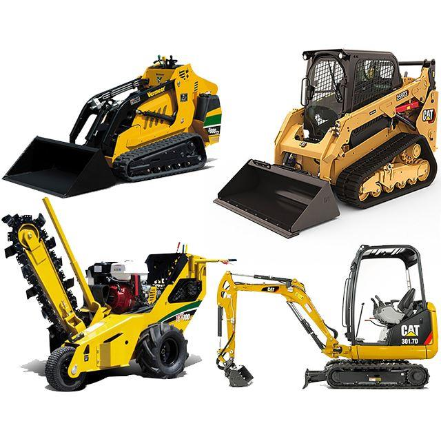 Rent Skid Steers & Excavation